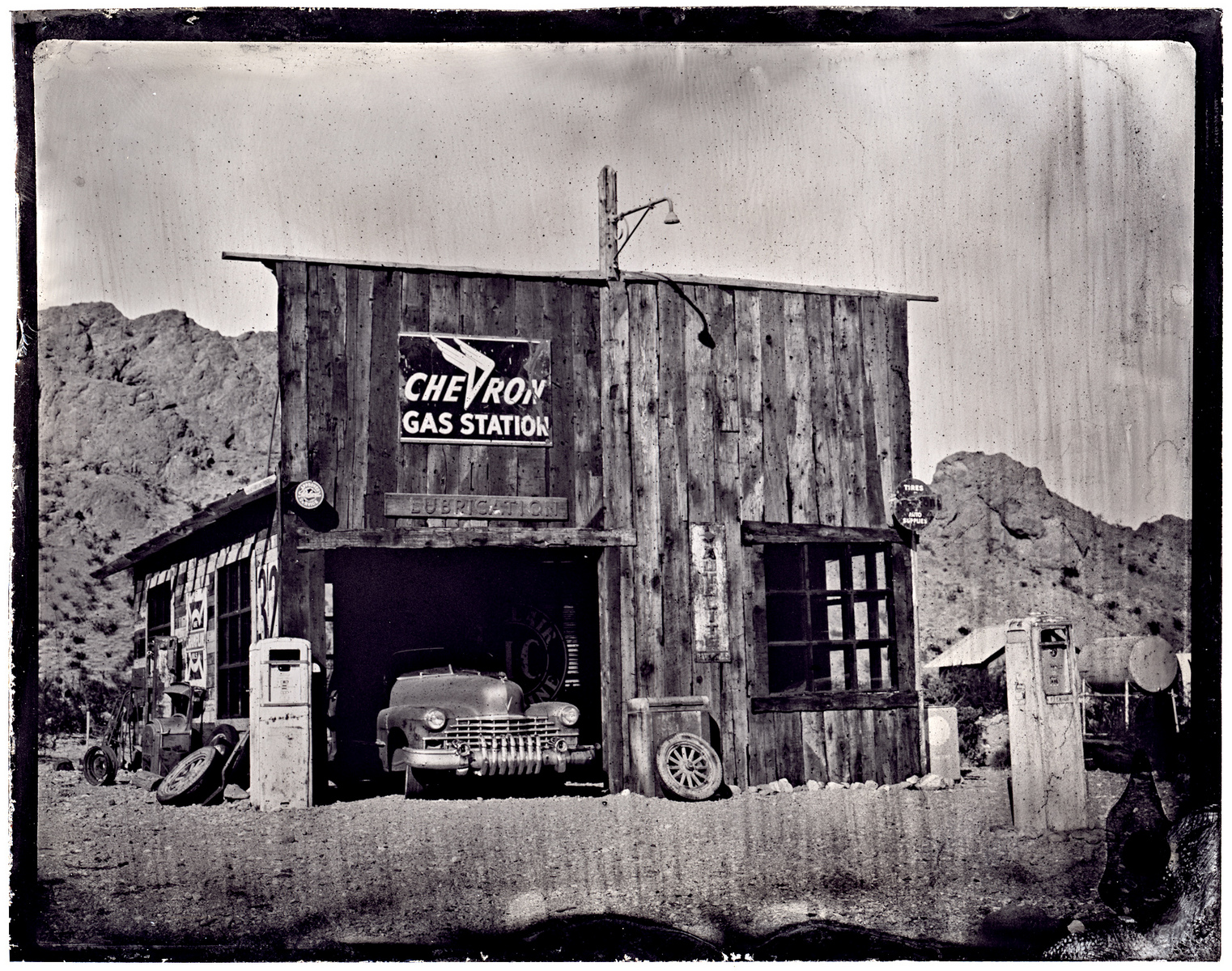 Chevron - Tintype - James Weber