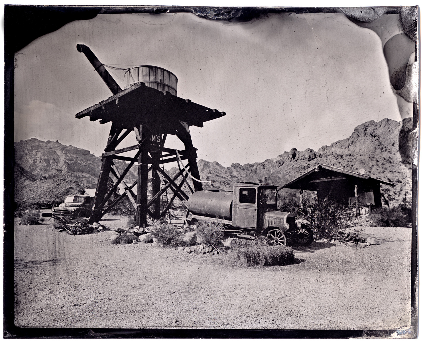 The American West -TINTYPE - James Weber