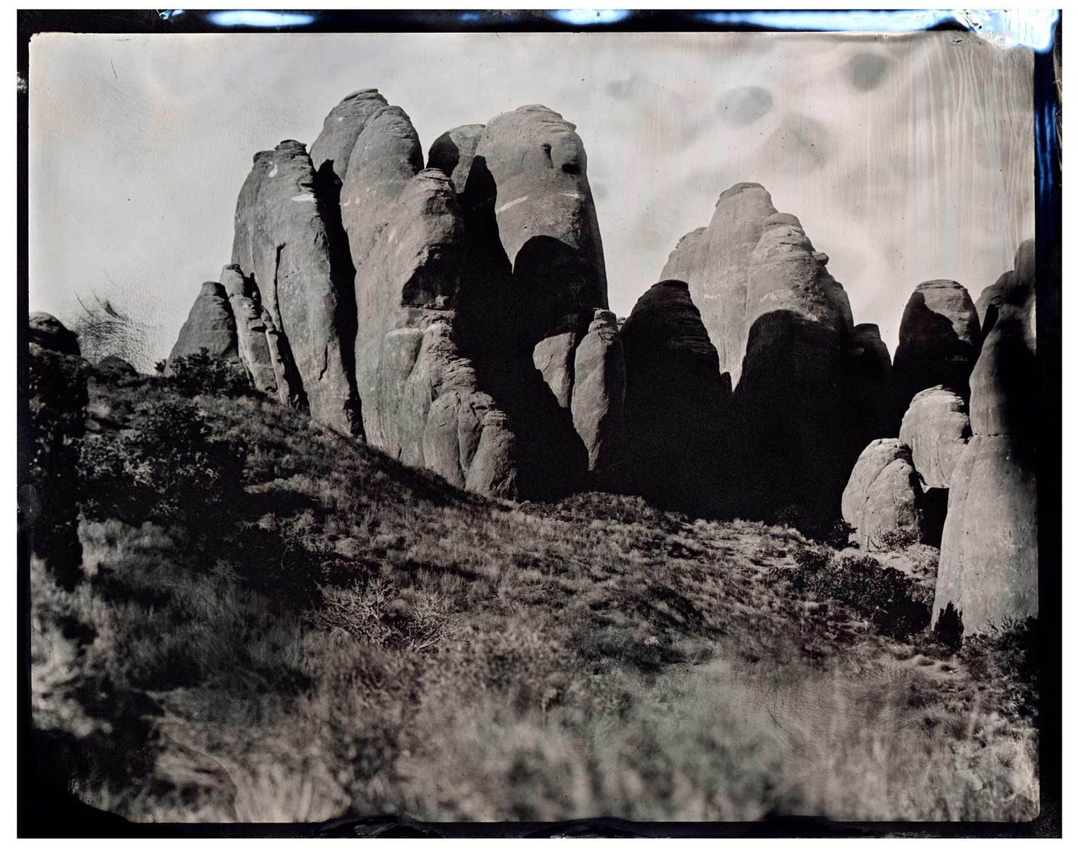 Valley of Fire - Tintype - James Weber